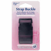 Hemline Quick Release Strap Buckle - 25mm